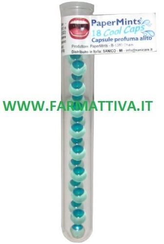 Sanico Paper Mints Cool Caps Profuma alito