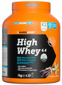 Named Sport High Whey 6.4 Vanilla Cream 1kg