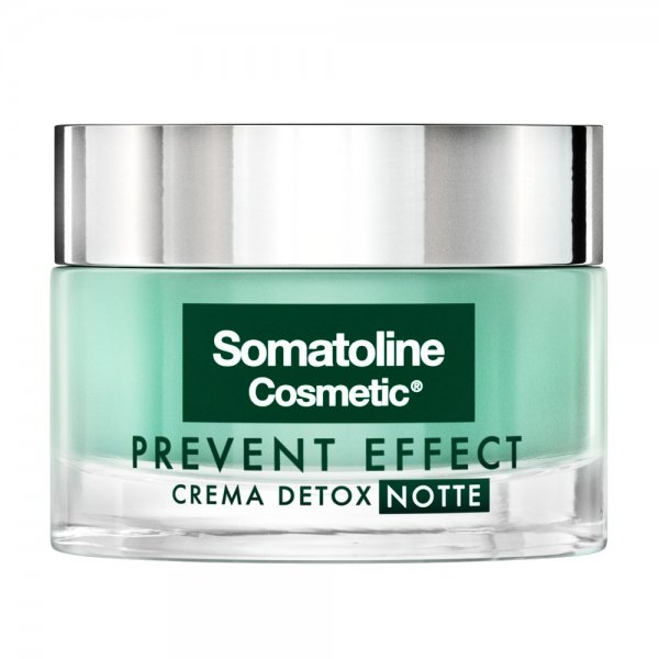 Somatoline Cosmetic Prevent Effect Crema Detox Notte 50 ml