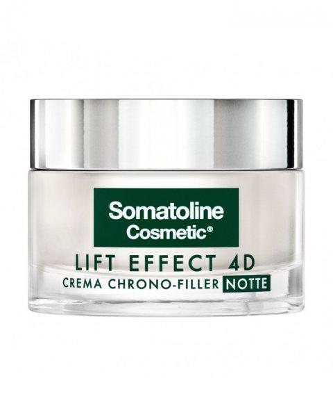 Somatoline Cosmetic Lift Effect 4D Crema Chrono Filler Notte Antirughe 50 ml