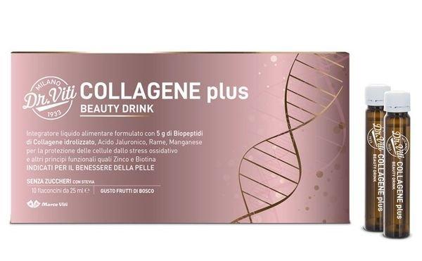 Dr Viti Collagene Plus 10 Flaconcini