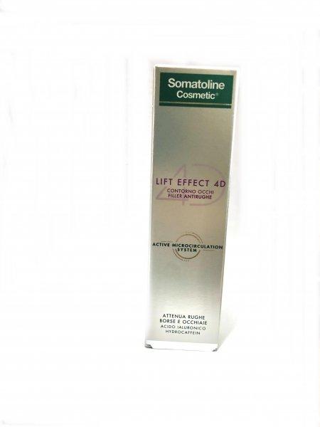 Somatoline Cosmetic Lift Effect 4D Contorno Occhi Filler Antirughe