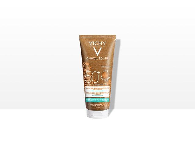 Vichy Capital Soleil 50+ EcoSostenibile Latte Solare 200 ml
