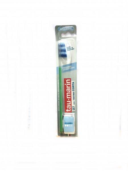 Tau Marin Spazzolino Protezione Antibatterica 27 mm Testina Corta Morbido
