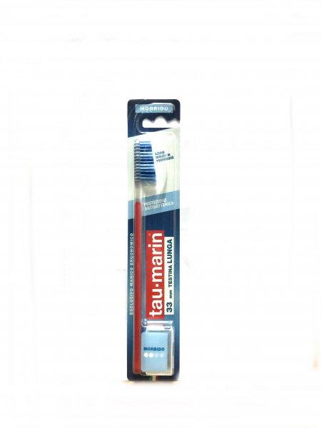 Tau Marin Spazzolino Protezione Antibatterica 33 mm Testina Lunga Morbido