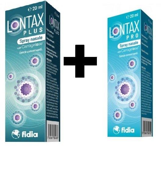 Lontax Plus + Lontax Pro Omaggio 20ml+20ml