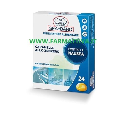 Sea Band P6 Nausea Control Caramelle allo zenzero contro la nausea