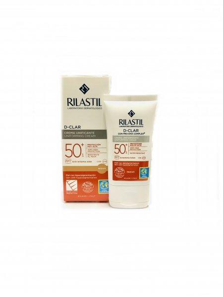 Rilastil D-Clar Crema Uniformante Spf 50+ 40 ml