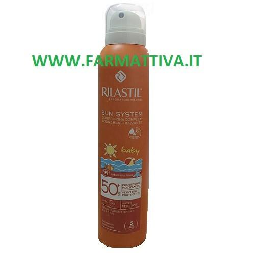Rilastil Sun System Baby Protezione Molto Alta SPF 50+ Spray