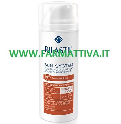 Rilastil Sun System Gel Crema Ultraleggero Protezione Molto Alta SPF 50