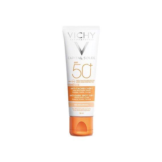 Vichy Caital Soleil Trattamento Anti macchie SPF50+ colorato