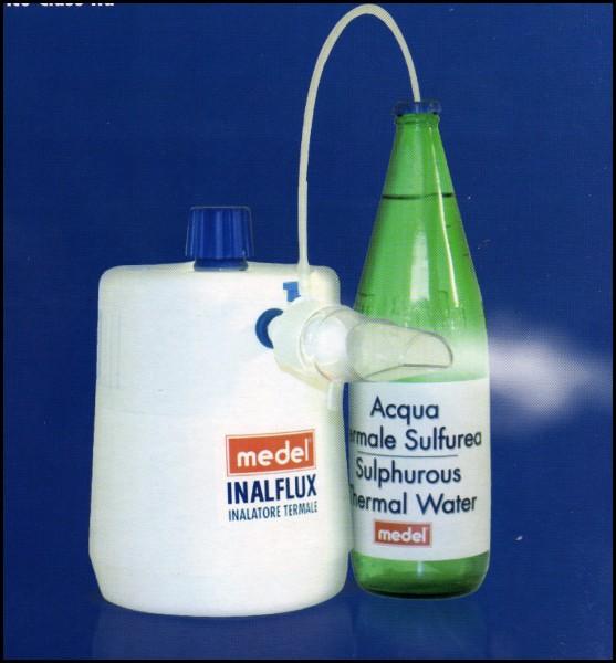 Medel Inalflux inalatore di acque termali a getto caldo umido