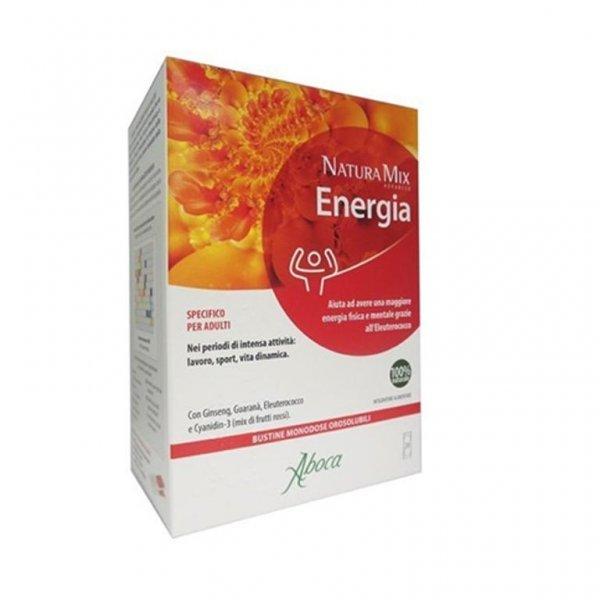 Aboca Natura Mix Advanced 28 Bustine Energetico confezione speciale