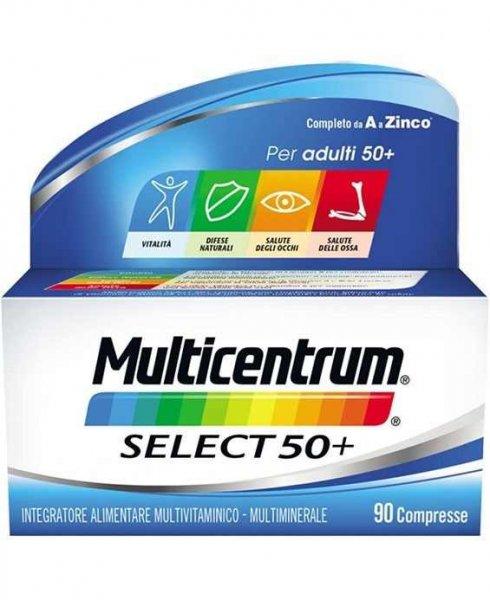 Multicentrum Select 50+ 90 Compresse Multivitaminico Multiminerale