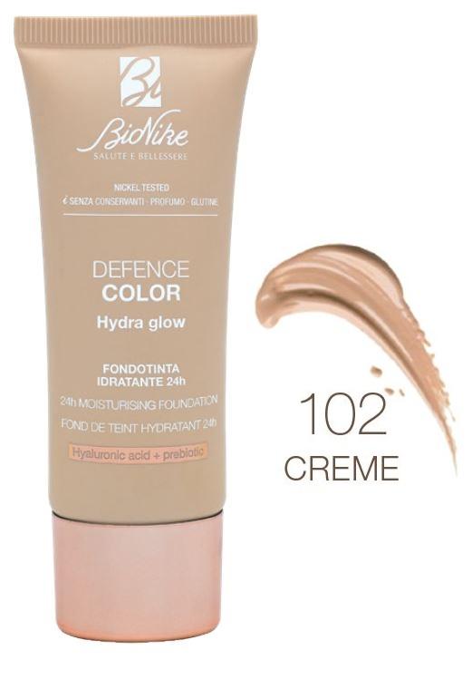 Bionike Defence Color Fondotinta Hydra Glow 102 Creme