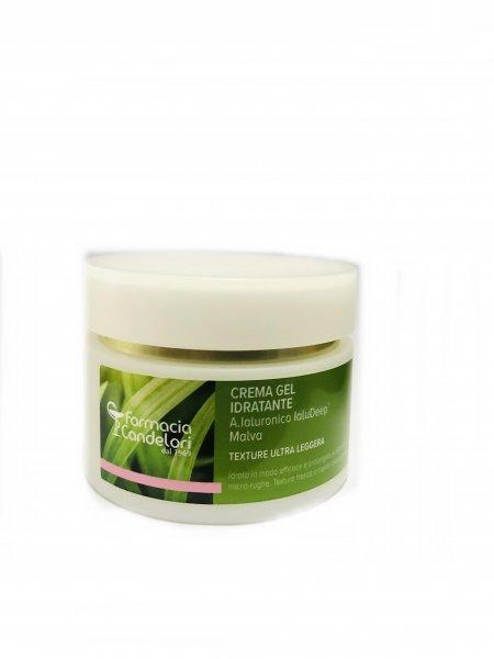 Farmacia Candelori Crema Gel Idratante Ialudeep Malva Texture Ultra Leggera 50 ml