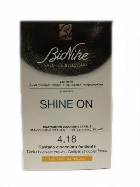 Bionike Shine On 4.18 Castano Cioccolato Fondente
