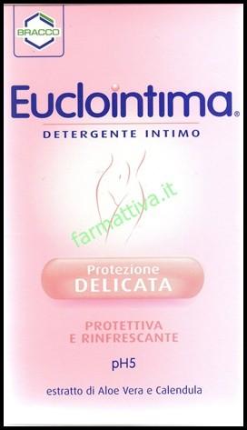 Bracco Euclointima Detergente intimo 2 CONFEZIONI