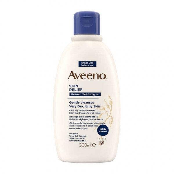 Aveeno Skin Relief Detergente Olio Bagno e Doccia 300 ml