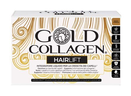 Gold Collagen Hairlift 10 Flaconi 50 ml