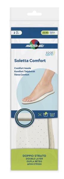 Master Aid Soletta Comfort Doppio Strato Taglia 22/46 2 Pezzi