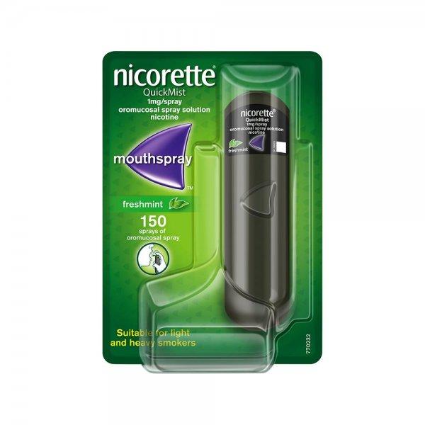 Nicorette Quick Spray Aroma Menta 150 Erogazioni
