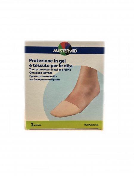 Master Aid Protezione in Gel e Tessuto Per le dita 90x73x2 mm 2 Pezzi