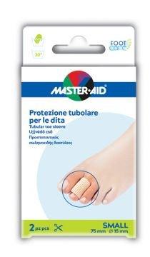 Master Aid Protezione Tubolare Dita Small 75 mm 15 mm 2 Pezzi