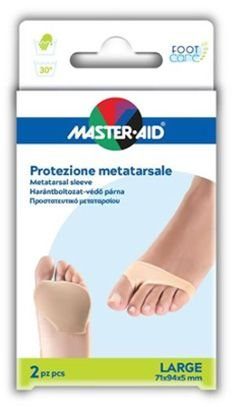 Master Aid Protezione Metatarsale Large 71x94x5 mm 2 Pezzi
