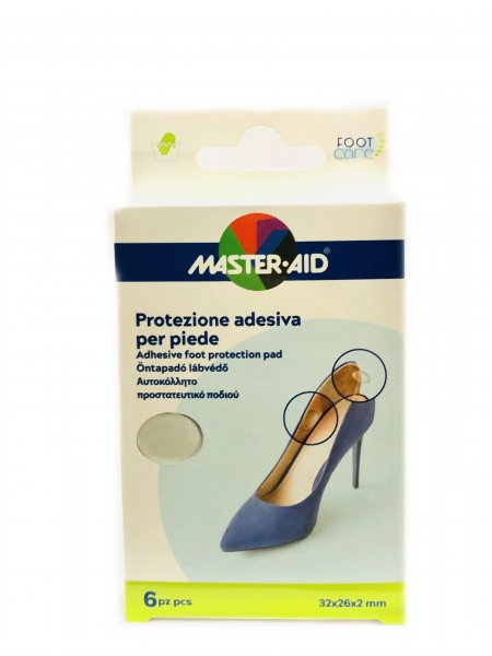 Master Aid Protezione Adesiva Per Piede 32x26x2 mm 6 Pezzi