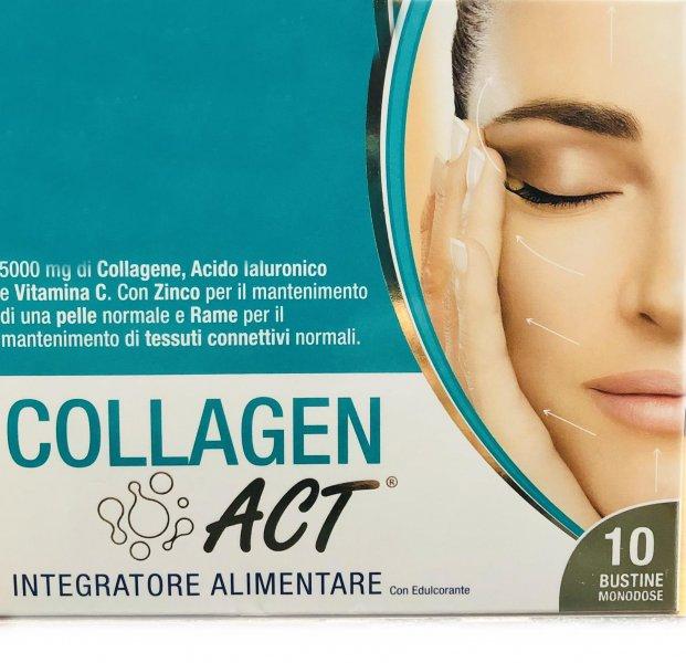 Collagen Act 10 Bustine Monodose