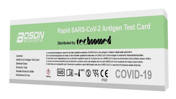 Boson Biotech Rapid Sars Cov 2 Antigen Test Card
