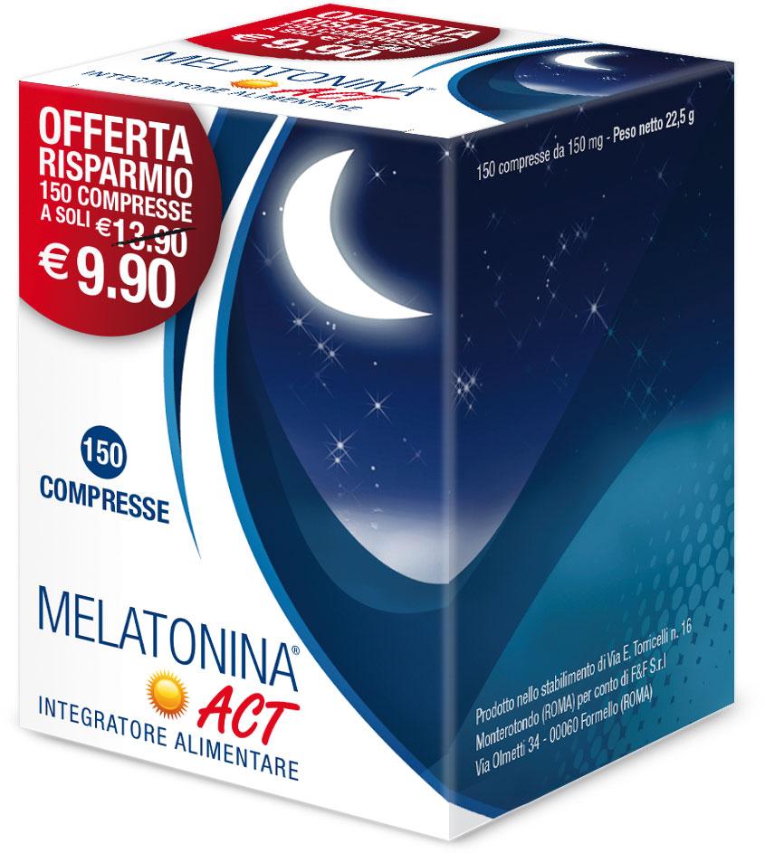 Melatonina Act 150 Compresse