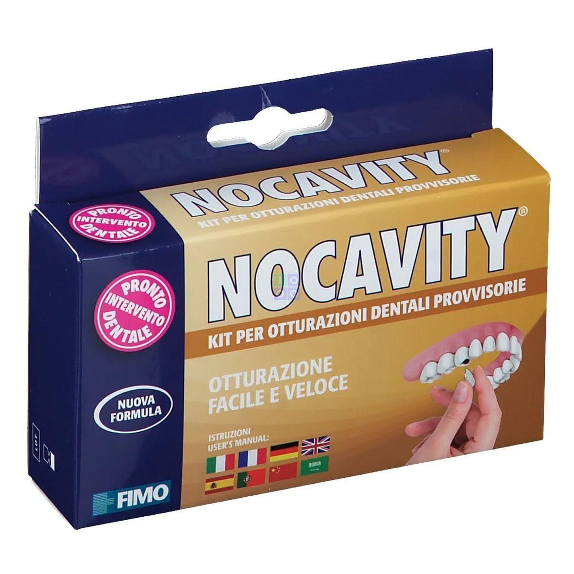 Nocavity Kit per Otturazioni Dentali Provvisorie