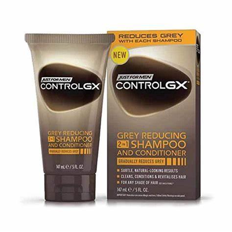 Just For Men ControlGX Shampoo Colorante 2in1 Con Balsamo 118 ml
