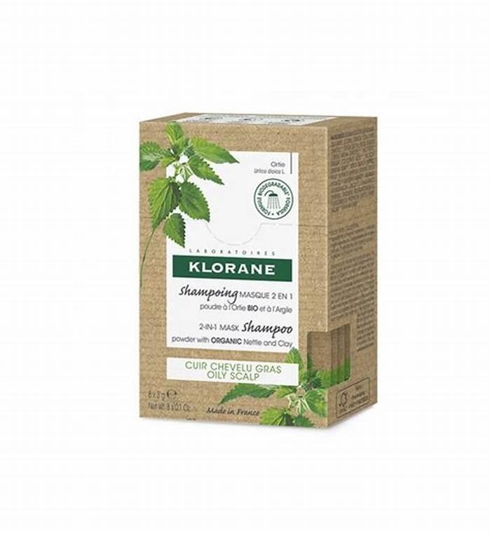 Klorane Shampoo Mask 2in1 8 Bustine