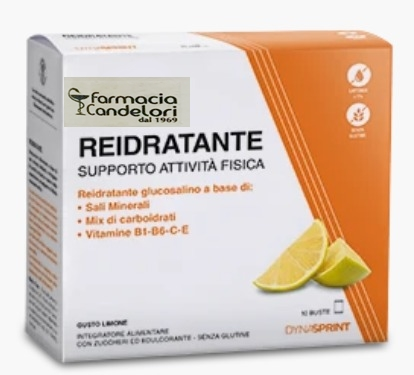 Farmacia Candelori Reidratante Gusto limone 10 Buste