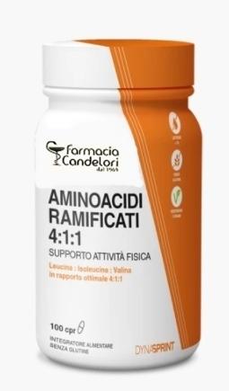 Farmacia Candelori Aminoacidi Ramificati 4:1:1 100 Compresse