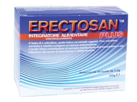 Erectosan Plus 30 Bustine 3,5 g