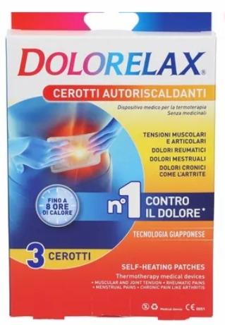 Dolorelax Cerotti Autoriscaldanti 3 Cerotti