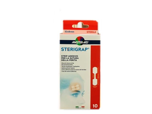 Master Aid Sterigrap 32X8mm 10 Strip