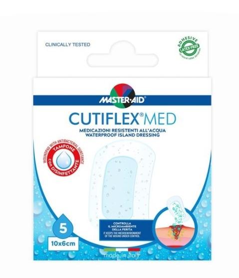 Master Aid Cutiflex Med 10X6 cm 5 Cerotti