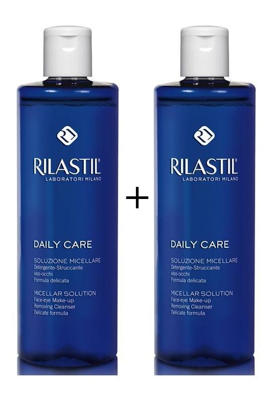 Rilastil Daily Care Soluzione Micellare 250 ml + 250 ml in Omaggio