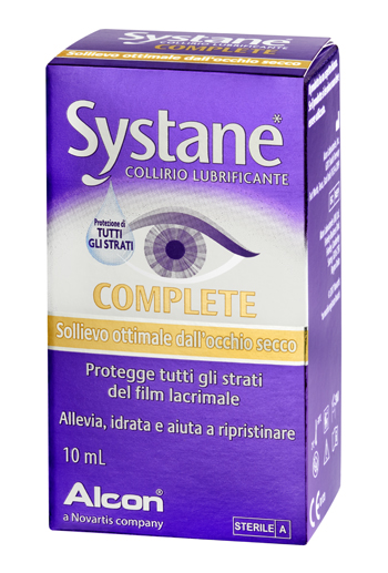 Systane Collirio Complete Collirio Lubrificante 10ml