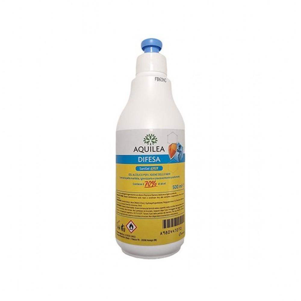 Aquilea Difesa Sanigel Lemon Gel Alcolico Igiene Mani 500 ml