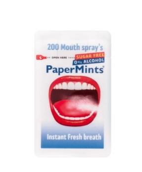 PaperMints Spray Senza Zucchero 200 Spray