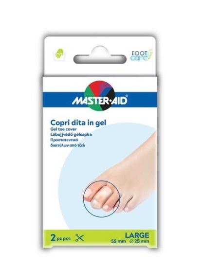 Master Aid Copri Dita in Gel 2 Pezzi Large 55 mm 25mm