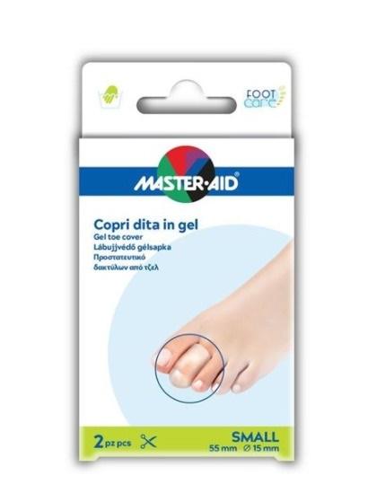 Master Aid Copri Dita in Gel 2 Pezzi Small 55 mm 15 mm