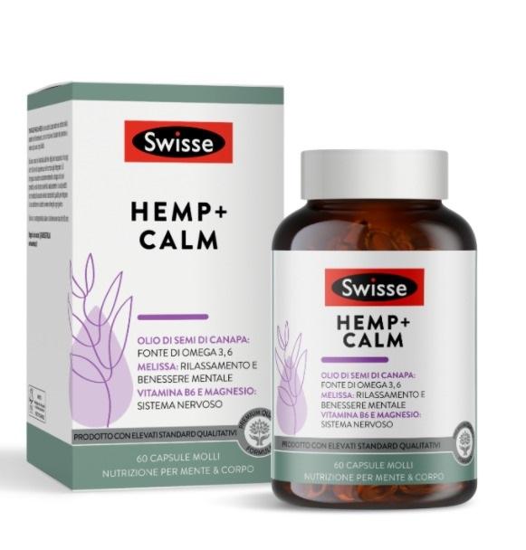 Swisse Hemp+ Calm 60 Capsule Molli