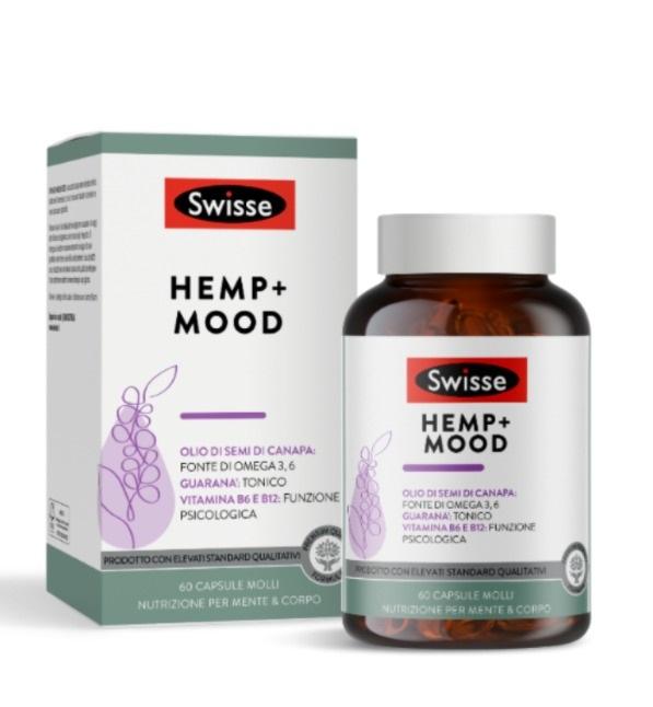 Swisse Hemp+ Mood 60 Capsule Molli